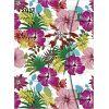 Kalendarz książkowy Notatnik 2017 Flowers KWIATY Large Magneto Diary  16 x 22cm