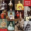 Kalendarz National Portrait Gallery - Royalty and their Pets Wall Calendar 2018