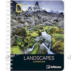 Kalendarz książkowy 2018 National Geographic Landscapes Deluxe Diary Calendar
