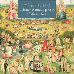 Kalendarz The Weird Art of Hieronymous Bosch Wall Calendar 2018