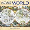 Kalendarz Antyczne Mapy Świata Antique Maps of the World Wall Calendar 2018