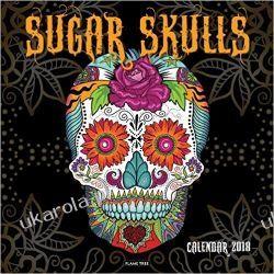 Kalendarz Sugar Skulls Wall Calendar 2018 Czaszki