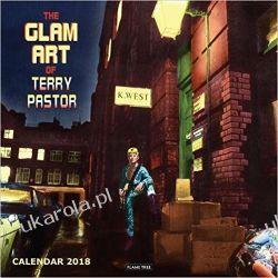 Kalendarz The Glam Art of Terry Pastor Wall Calendar 2018