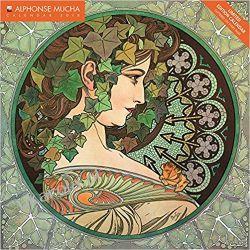 Kalendarz Alphonse Mucha limited edition wall calendar 2018 art