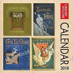 Kalendarz British Library - Bookcovers Wall Calendar 2018