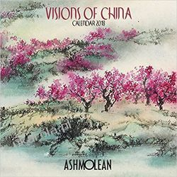 Kalendarz Ashmolean Museum - Visions of China Wall Calendar 2018