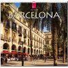 Kalendarz Barcelona 2018 Calendar Hiszpania