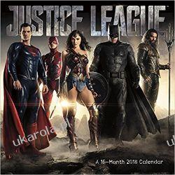 Kalendarz Liga Sprawiedliwości Justice League 2018 Calendar