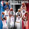 Kalendarz NBA Superstars 2018 Basketball Calendar