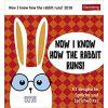 Kalendarz biurkowy 2018 Now I know how the rabbit runs Calendar