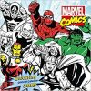 Kalendarz Marvel Comics Colouring Official 2018 Calendar