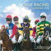 Kalendarz Wyścigi Konne Horse Racing 2018 Wall Calendar