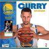 Kalendarz Golden State Warriors Stephen Curry 2018 Wall Calendar