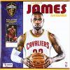 Kalendarz Cleveland Cavaliers Lebron James 2018 Calendar NBA koszykarski
