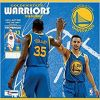 Kalendarz Golden State Warriors 2018 Team Wall Calendar