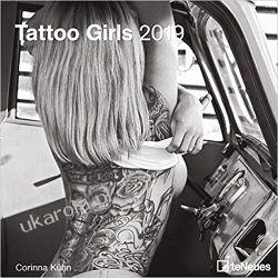 Kalendarz Kobiety Tattoo Girls 2019 Calendar