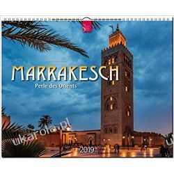 Kalendarz Marakesz Marrakech 2019 Calendar