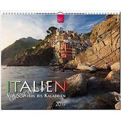 Kalendarz Włochy Italy from South Tyrol to Calabria 2019 Calendar