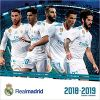 Kalendarz Real Madryt Real Madrid 17 Month 2018-2019 Calendar
