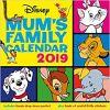 Kalendarz Disney Classic Mums Family Calendar Official 2019 Calendar