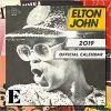 Kalendarz Elton John Official 2019 Calendar