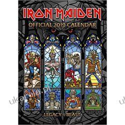 Kalendarz Iron Maiden Official 2019 Calendar