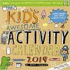 Kalendarz Kid's Awesome Activity Wall Calendar 2019