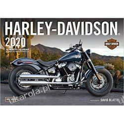 Kalendarz Harley-Davidson 2020 Calendar motocykle