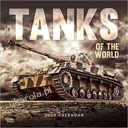 Kalendarz Tanks of the World 2020 Square Wall Calendar czołgi