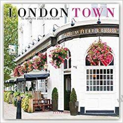 London Town 2020 Square Wall Calendar