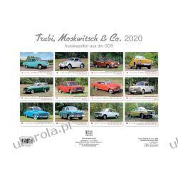 Kalendarz klasyczne auta DDR Schwalbe, Sperber & Co. 2020 Calendar