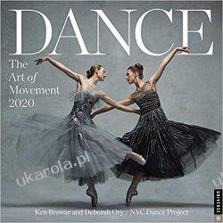 Dance the Art of Movement 2020 Square Wall Calendar taniec