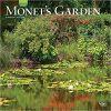 Monet's Garden 2020 Square Wall Calendar ogrody natura Moneta