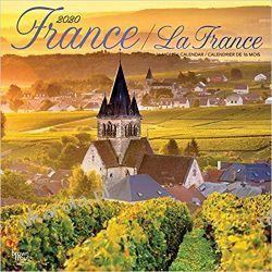 France La France 2020 Square Wall Calendar Francja