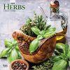 Herbs 2020 Square Wall Calendar zioła