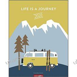 Kalendarz Life is a Journey Calendar 2020 podróże
