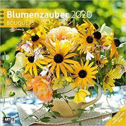 Kalendarz Kwiaty Bouquets 2020 Calendar