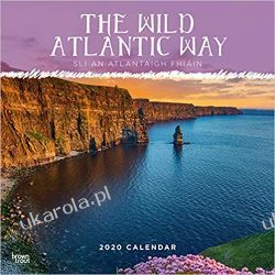 Kalendarz The Wild Atlantic Way 2020 Square Wall Calendar