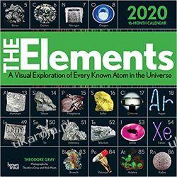 Kalendarz The Elements 2020 Square Wall Calendar