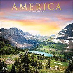 Kalendarz Ameryka America 2020 Square Wall Calendar