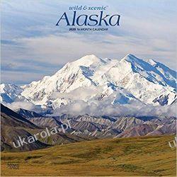Kalendarz Alaska, Wild & Scenic 2020 Square Wall Calendar