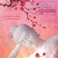 Kalendarz Imagine 2020 Square Wall Calendar