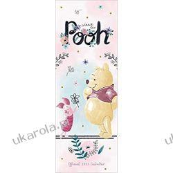 Kalendarz Kubuś Puchatek Disney Winnie The Pooh Sketch Slim 2020 Calendar