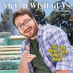 Kalendarz Nice Jewish Guys Wall Calendar 2020