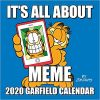 Kalendarz Garfield 2020 Square Wall Calendar