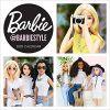 Kalendarz Barbie barbiestyle 2020 Wall Calendar
