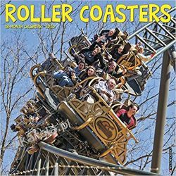 Kalendarz Roller Coasters 2020 Calendar