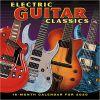 Kalendarz Gitary Electric Guitar Classics 2020 Calendar