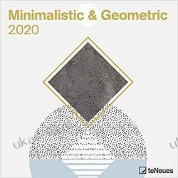 Kalendarz Minimalistic & Geometric 2020 Square Wall Calendar