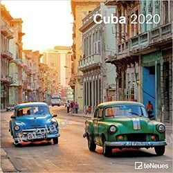 Kalendarz Cuba 2020 Square Wall Calendar